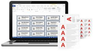 Design Print With MicrosoftR Word