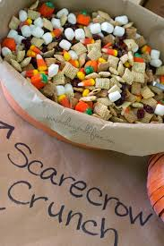 Free Halloween Potluck Signup Sheet by Scarecrow Crunch Trail Mix Dairy Gluten Free Nut Free