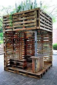 10 Creative Uses For Old Wood Pallets Kids CLUB HOUSE Idea Wooden
