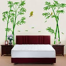 wallpark groß grün bambus wald vogel abnehmbare wandsticker wandtattoo wohnzimmer schlafzimmer haus dekoration klebstoff diy kunst wandaufkleber