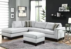 Light Blue Sofa And Sale Corduroy Couch Grey With Studs
