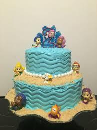 Bubble Guppies Bathroom Decor by Best 25 Bubble Guppies Birthday Cake Ideas On Pinterest Bubble