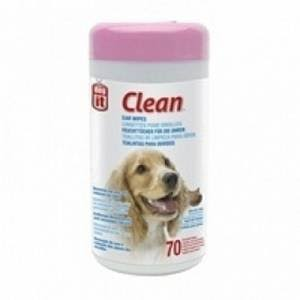 Dogit Clean Ear Wipes - 70ct