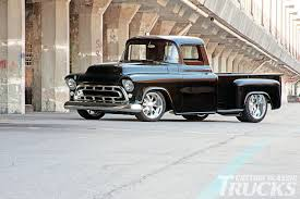 1957 Chevy 3100 - Never Too Young - Hot Rod Network 1955 Chevy Truck For Sale Youtube 19 Trucks Of Barrettjackson 2014 Auction Truckin 1957 To 1959 Chevrolet Apache For On Classiccarscom Pickup 20141210 008 001ajpg Chevy Trucks Short Bed Ideals Totally Custom Big To Old Photos 9 Sixfigure Restoration Collection 1956 3100 Truck Ratrod Shoptruck Shortbed N 4100 Series Tow Truck Towmater Wrecker Hot Rod Network