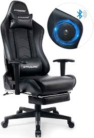 GTRACING Gaming Chair With Footrest Speakers Bluetooth Racing Chair Audio  Heavy Duty Computer Desk Chair GT901M Black Arozzi Milano Gaming Chair Black Best In 2019 Ergonomics Comfort Durability Amazoncom Cirocco Wireless Video With Speaker The X Rocker 5172601 Review Ultimategamechair Pro 200 Sound Enhancement Features 10 Console Chairs Sept Reviews Noblechair Epic Chair El33t Elite V3 Pu Details About With Speakers Game For Adults Kids