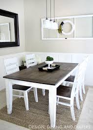 Brilliant Diy Farmhouse Dining Table Tables Best DIY Designs Full Hd
