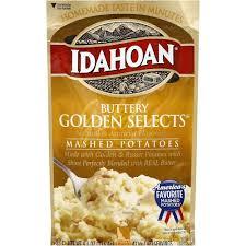 Idahoan Mashed Potatoes Buttery Golden Selects