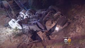 Big Rig Overturns On 210 Freeway, Killing Driver « CBS Los Angeles