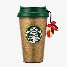 Gold Starbucks Cup Clipart Shine PNG Image And