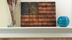 Bold Idea Wooden American Flag Wall Art With 22 X 16 From Sportys Preferred More Photos Rustic Wood Made By