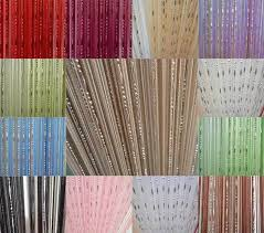 Beaded Curtains For Doorways Ebay by 1 X Chain Beads Fringe String Curtain Panel Window Tassel Room