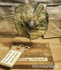 Ed Gein Human Lampshade by Gimme A Ring From The Ed Gein Collection