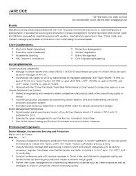 Maintenance Manager Resume Inspirational Sample For Production In India Of
