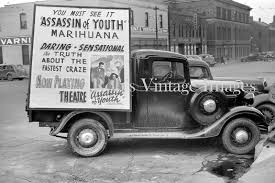 REEFER MADNESS PHOTO 1930s Motion Picture Ad Truck Perils Of ...