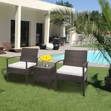 Details About 3 Pcs Outdoor Patio Rattan Wicker Couch Sofa Glass Top Table  Chair Furniture Set 315 Round Alinum Table Set4 Black Rattan Chairs 8 Seater Ding Set L Shape Sofa Brown Beige Garden Amazoncom Chloe Rossetti 17 Piece Outdoor Made Coffee Table Set Stock Photo Image Of Contemporary Hot Item Modern Fniture Stainless Steel And Lordbee Large 5 Pcs Patio Wicker Belleze 3 Two One Glass Details About Chair Cushion Home Deck Pool 3pc Durable For Pcs New Y7n0