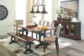 Wooden Dining Room Bench Large