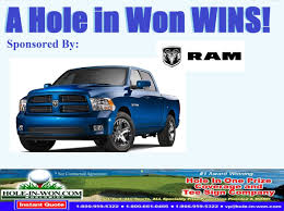 100 Insurance For Trucks Ram Truck Hole In One RAM Promotions For All Sports Trade