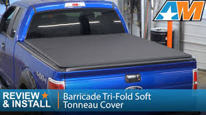 100 F 150 Truck Bed Cover 20042014 Barricade Triold Soft Tonneau W 65
