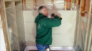 Tiling A Bathtub Enclosure by How To Prepare A Shower Alcove Or Bathtub Walls For Tile Using