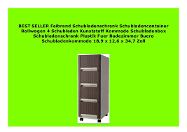 new feibrand schubladenschrank schubladencontainer rollwagen