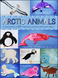 Printable Arctic Animal Crafts