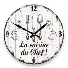 horloge cuisine design achat vente pas cher