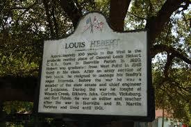 100 Louis Hebert Read The Plaque