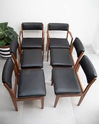 Mid Century Teak & Black Leatherette Dining Chairs Amazoncom Povl Outdoor Menlo Large Rectangular Teak Ding Room Gorgeous Decoration Using Round Chair Stock Photo Image Of Chairs Hardwood Exciting Chairs Set For Wood Patio Table Danish Modern In White Gray And Pink Fabric Cross Back Natural Finished Washed Fniture Handmade From Indonesia Crafter Buy Vintage Upholstered Structube Lee 2019 Dectable Setting And Wicker Dominent High Salgado Beautiful Used 6 Amazonia Hawaii