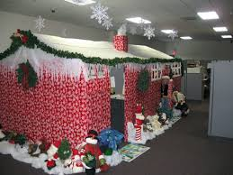Cubicle Decoration Themes For Competition by Office Christmas Decoration Ideas Funny Cubicle Themes Door