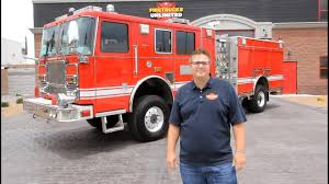 2008 Seagrave 4x4 Pumper For Sale - Firetrucks Unlimited - YouTube