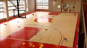 Building The Basketball Court At The American Center - YouTube Outdoor Courts For Sport Backyard Basketball Court Gym Floors 6 Reasons To Install A Synlawn Design Enchanting Flooring Backyards Winsome Surfaces And Paint 50 Quecasita Download Cost Garden Splendid A 123 Installation Large Patio Turned System Photo Album Fascating Paver Yard Decor Ideas Building The At The American Center Youtube With Images On And Commercial Facilities