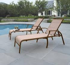 This Set Of 2 Patio Lounge Chairs Made Stain Resistant And Quick Drying Fabric Are