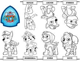 Free Printable Mini Paw Patrol Coloring Book From A Single Sheet