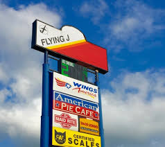 100 Pilot Truck Stop Store Wings America Flying J In Avoca IA Review