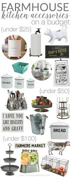 Home Goods Decor Its ALL Adorable Farmhouse Kitchen Accessories On A Budget IdeasFarmhouse