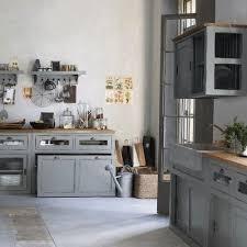cuisine grise plan de travail bois cuisine grise plan de travail bois bois expose par motivant cuisine