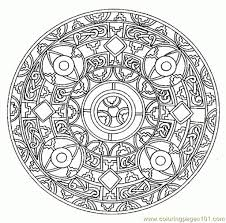 Free Printable Mandalas Mandala Coloring Pages Throughout The Most Awesome