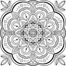 PDF Mandala Coloring Book Page