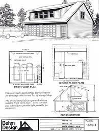 Shed Dormer Plans by 2 Car Shed Dormer Garage Plan With Loft 1610 1 30 X 30 By