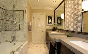 calacatta porcelain tile bathroom traditional bathroom
