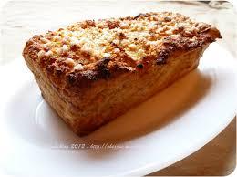 recette dessert aux pommes gâteau de perdu aux pommes et cannelle pour 6 personnes