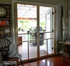 Installing A Screen Door Patio Sliding Glass Patio Doors Wonderful