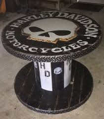 100 Harley Davidson Lounge Chair Wooden Spool Table Pallet Craft Ideas In 2019