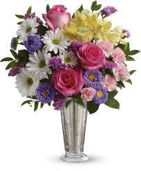 Smile Shine Spring Bouquet Flower Bouquets