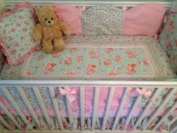 Shabby Chic Nursery Bedding by Shabby Chic Princess Rose Nursery