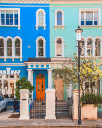 100 Notting Hill Houses London England Is One Of My Favourite