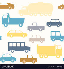 100 Free Cars And Trucks And Trucks Seamless Pattern Royalty Vector Image