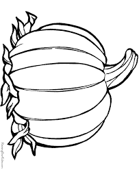Free Printable Thanksgiving Food Coloring Pages
