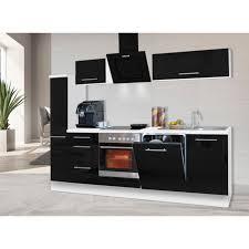 respekta küchenzeile rp250 mit e geräten breite 250 cm
