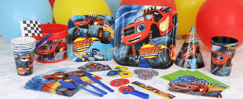 100 Monster Truck Decorations Blaze Party Supplies Next Day